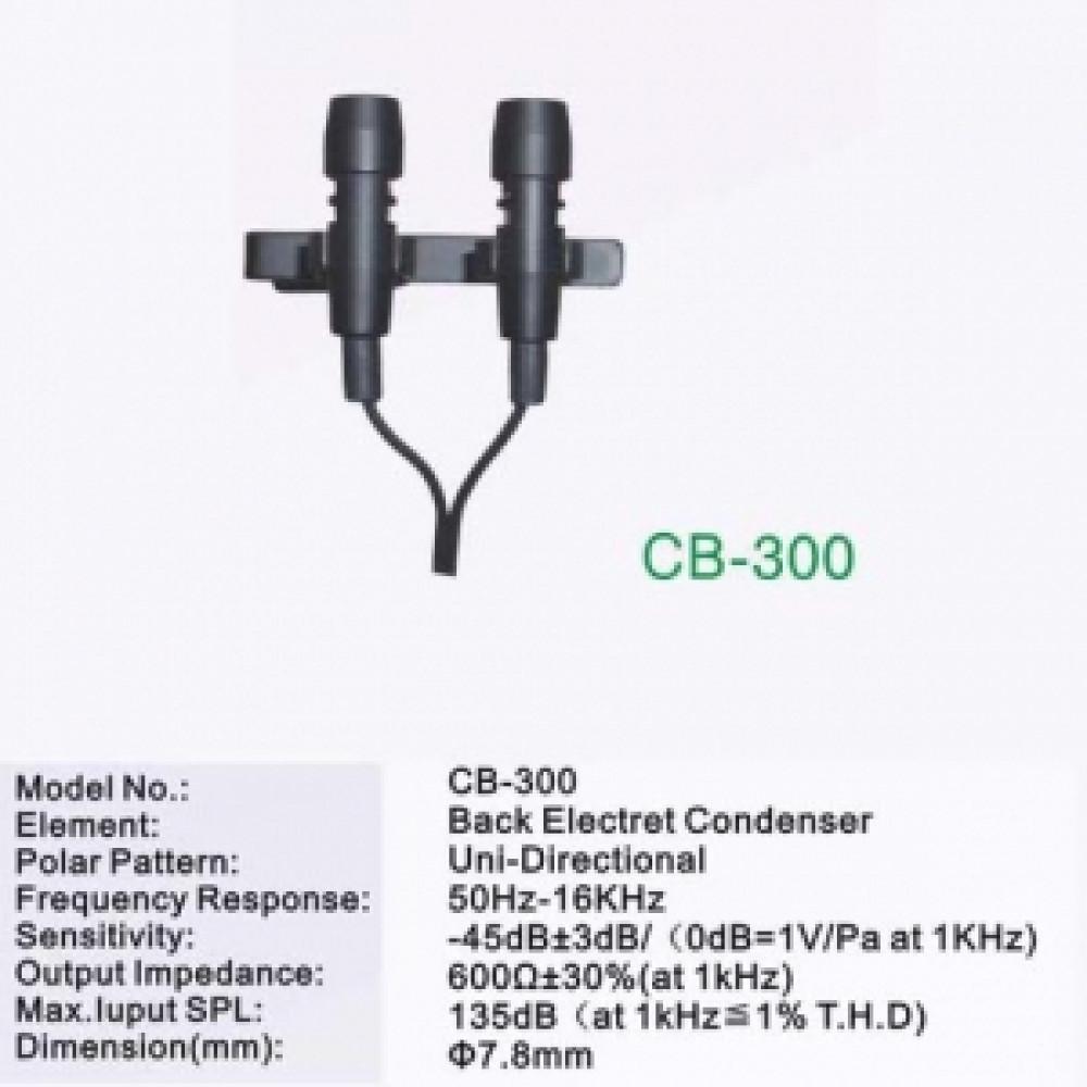 Микрофоны петличные Top CB 300