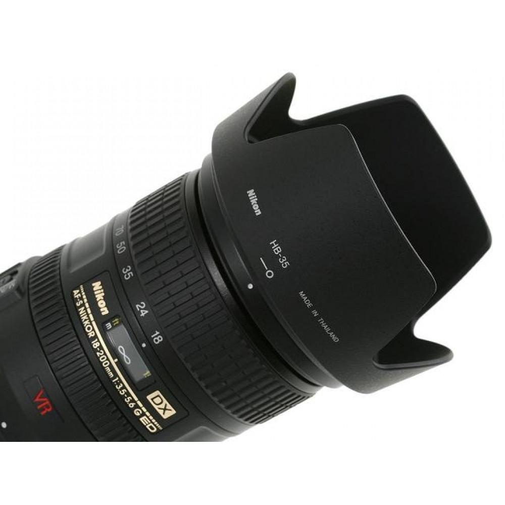 Бленда Nikon HB-35  для Nikon AF-S DX 18-200