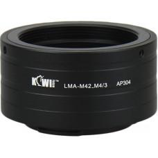 Переходное кольцо Kiwifotos LMA-FD_M4/3 для canon FD объектива в Micro 4/3