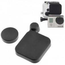 Экшн-камера ST-77 Protective Camera Lens Cap Cover + Housing Case Cover For Экшн-камера HD  3 Black