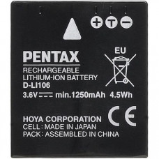 Аккумулятор Pentax D-LI106