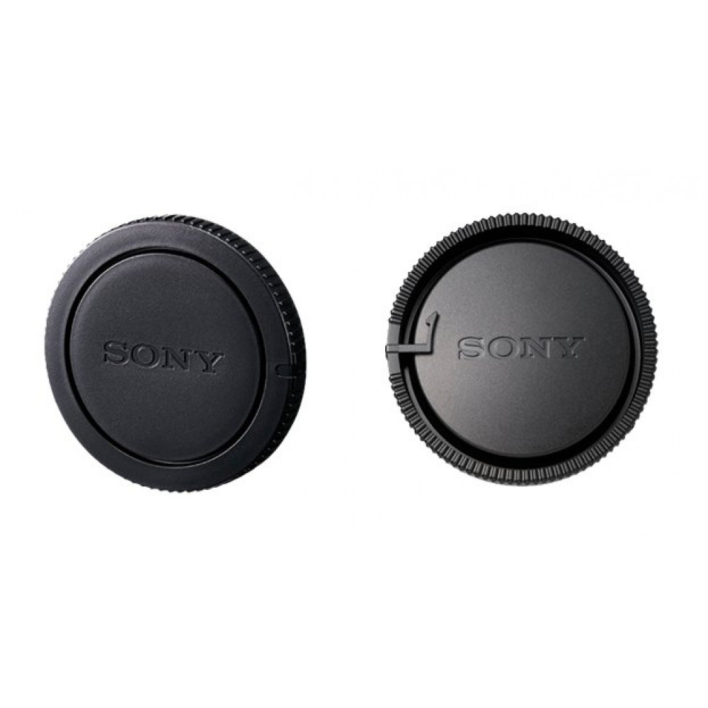 Крышка передняя и задняя для объектива Sony (комплект)