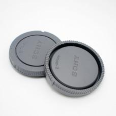 Крышка передняя и задняя для объектива NEX