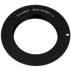 Адаптер М42 - EOS [Black] YUER