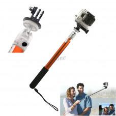 Монопод ST-104 телескопический + адаптер на Экшн-камера  1/2 /3/3+4