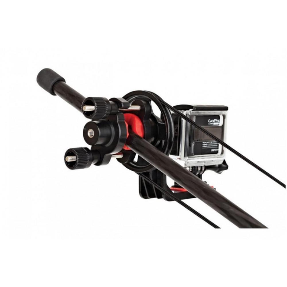 Видеокран-удочка Joby Action Jib Kit & Pole Pack (черный/красный) с ручным управлением для экшн-камер (JB01353-BWW)