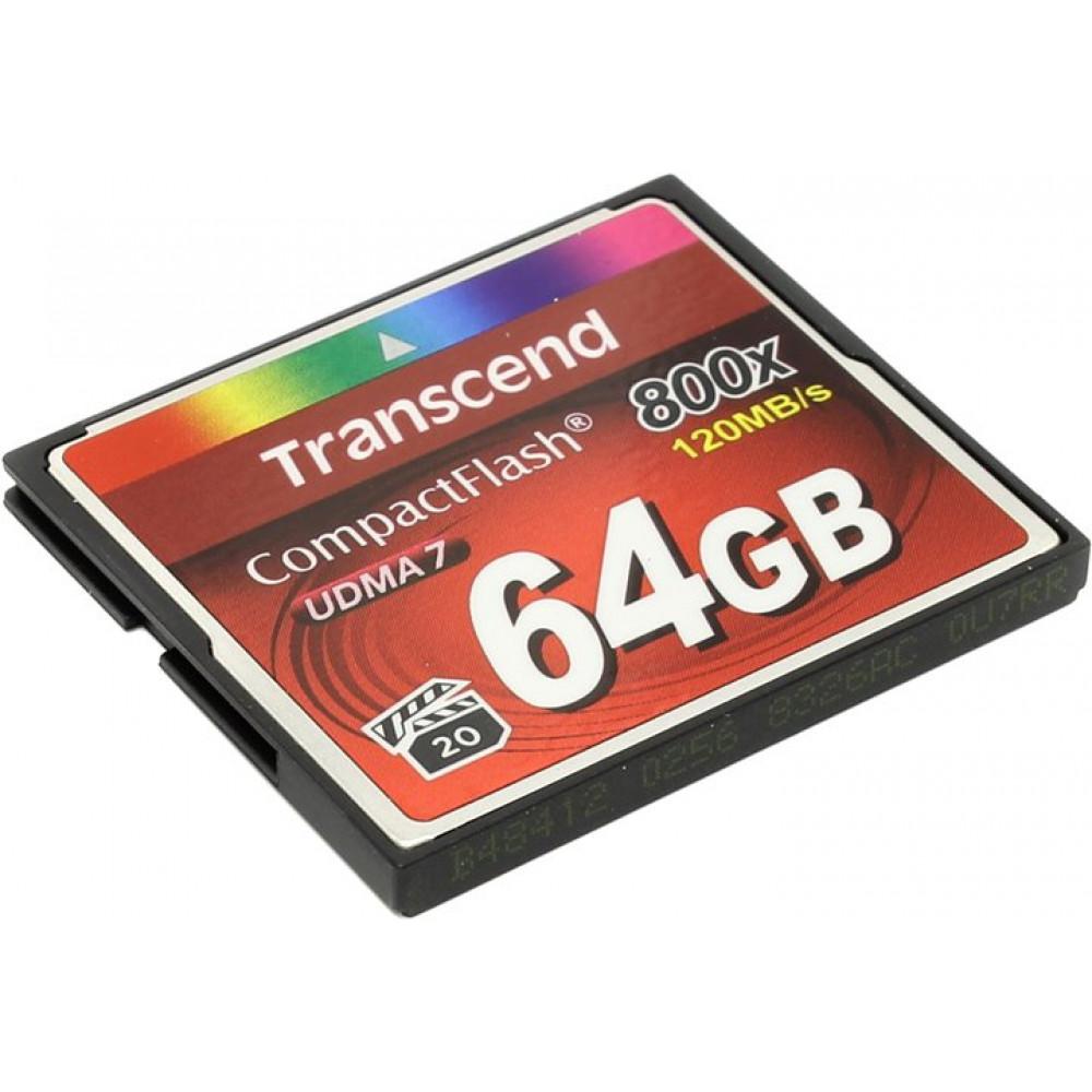 Transcend CompactFlash 64GB 800X