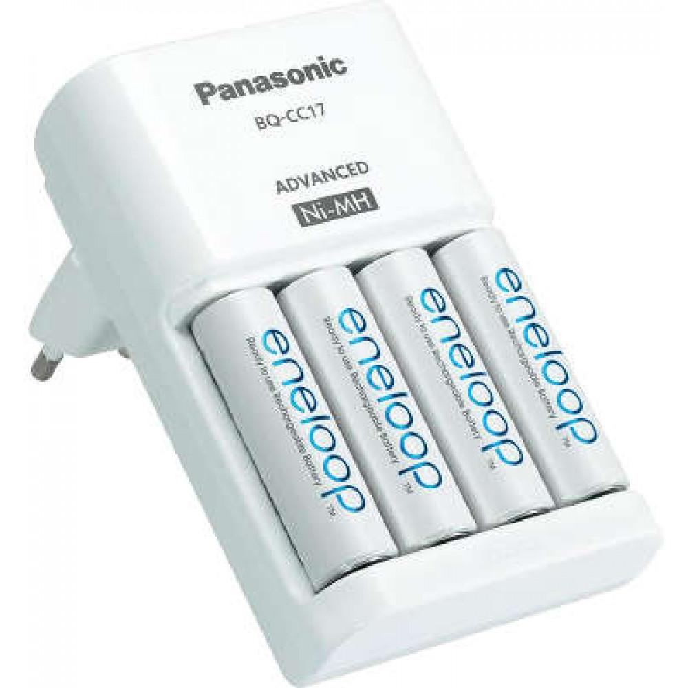 Panasonic Advanced (K-KJ17MCC40E) +4шт АА 1900 mAh