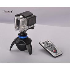 Панорамная головка для Экшн-камера c пультом управления Jmary PC-100 Black