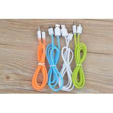 Кабель Силиконовый Micro USB Cable для samsung Blue