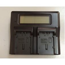 Двойное зарядное у-во с инфо индикатором Для Panasonic VBG6 VBG6/ VW-VBD78/ VW-VBD98 + usb