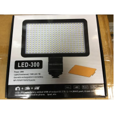 Professional Video Light LED-300[charger+F550