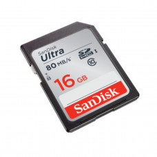 SanDisk SDHC-16GB Ultra 80MB/s-533X [SDSDUNC-016G-GN6IN]