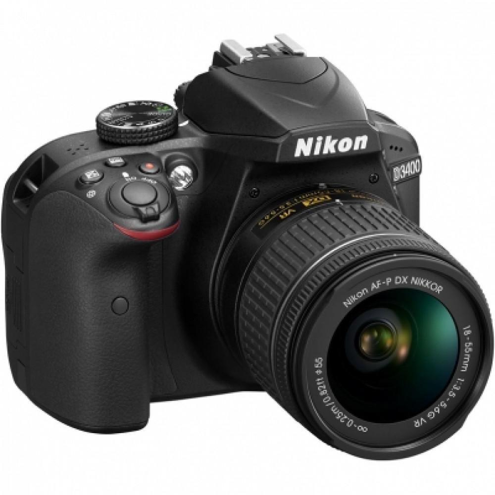 Фотоаппарат Nikon D3400 Kit  AF-P 18-55 DX VR