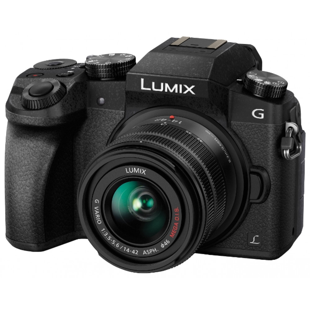 Фотоаппарат Panasonic DMC-G7 Kit 14-42mm (DMC-G7KEE-K)