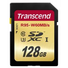 Transcend SDXC 128Gb Class 10 UHS-I U3 (95/60MB/s)633х