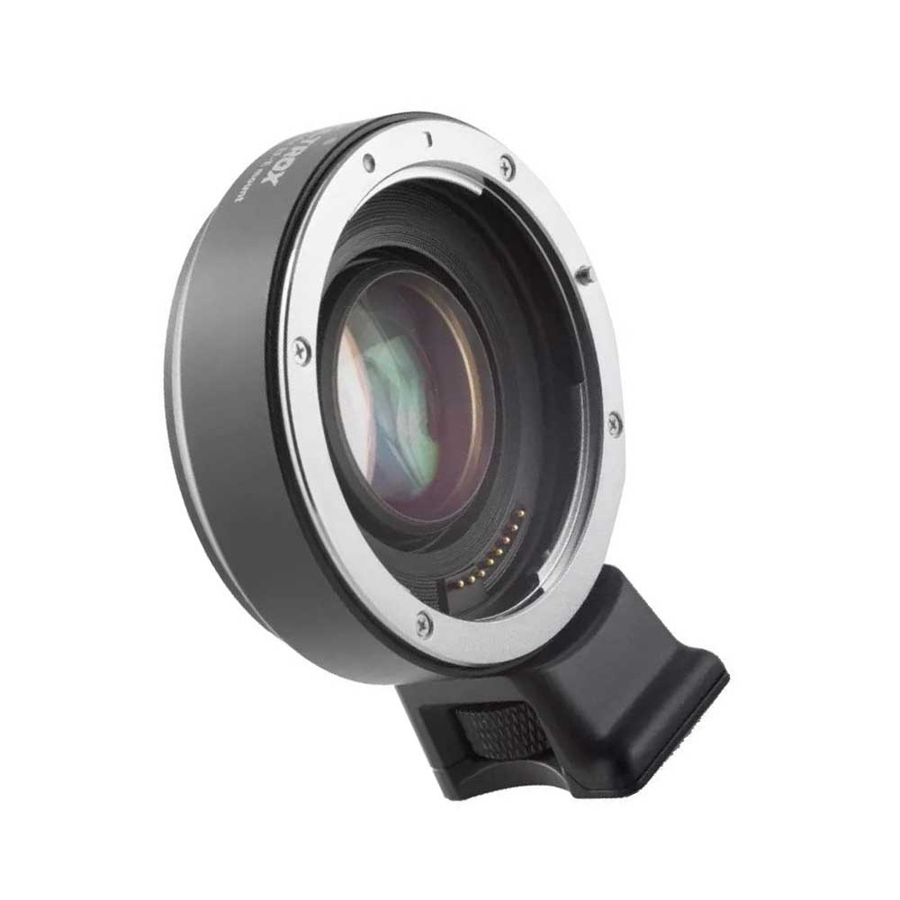 Адаптер Viltrox Speed Booster для Canon EF на байонет Sony E-mount с автофокусом
