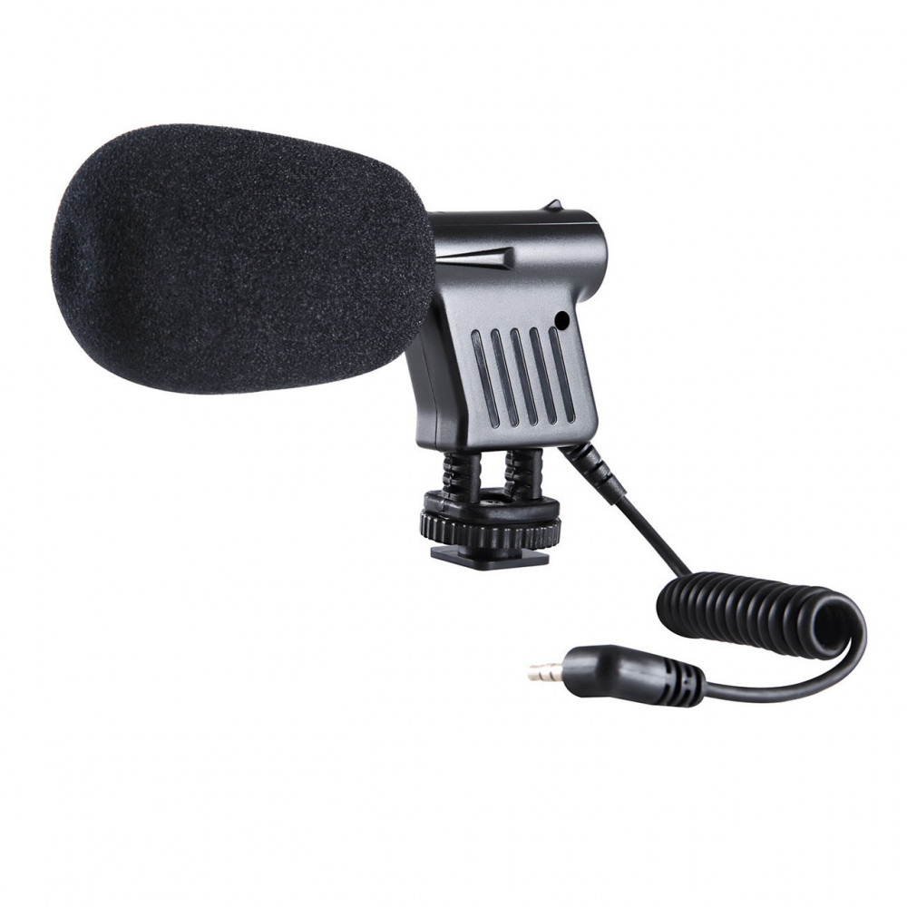 Микрофоны для фото и видеокамер Boya BY-VM01