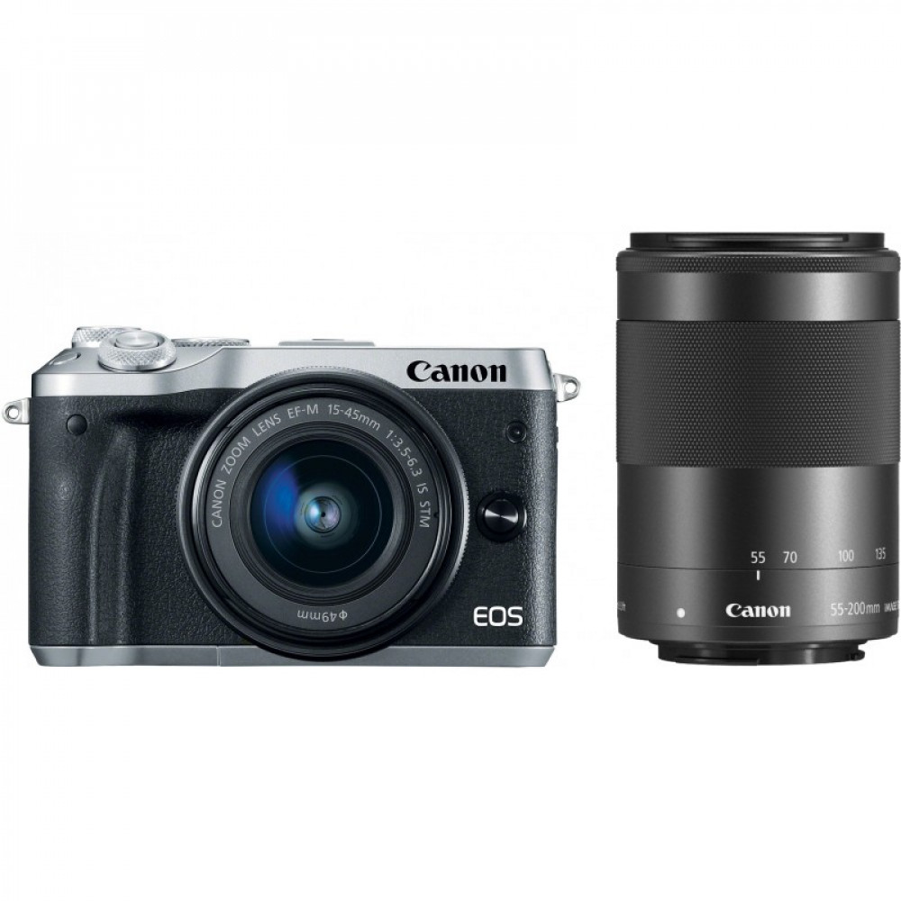 Фотоаппарат Canon EOS M6 kit 15-45 IS STM