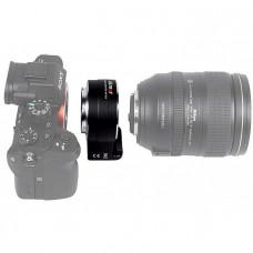Переходное кольцо Viltrox NF-E1 AF для Nikon серии F-Mount для камер Sony
