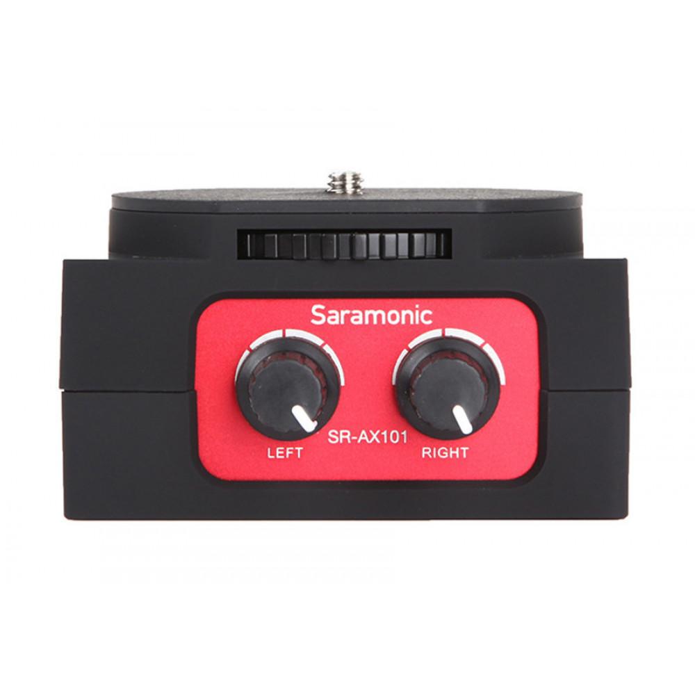 Микшер двуканальный Saramonic SR-AX101