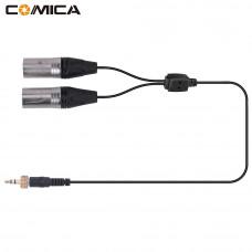 Кабель Comica CVM-DS-XLR [ 3,5 мм TRS to Двойной XLR Male стерео аудио Выход кабель]