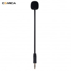 Микрофон 3,5мм гибкий кардиоида для беспроводных микрофонов универсальный  Comica CVM-GM-C1