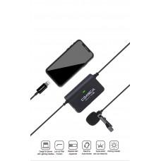 Петличный микрофон Comica CVM-SIG.LAV V05 для Iphone