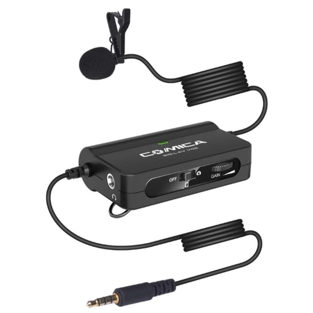 Петличный микрофон Comica CVM-SIG.LAV V05