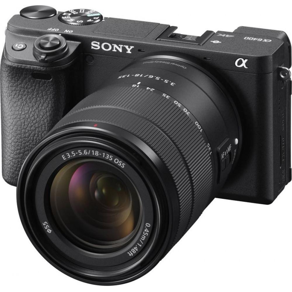 Фотоаппарат Sony Alpha ILCE-6400 Kit 18-135 mm F/3.5-5.6 E OSS