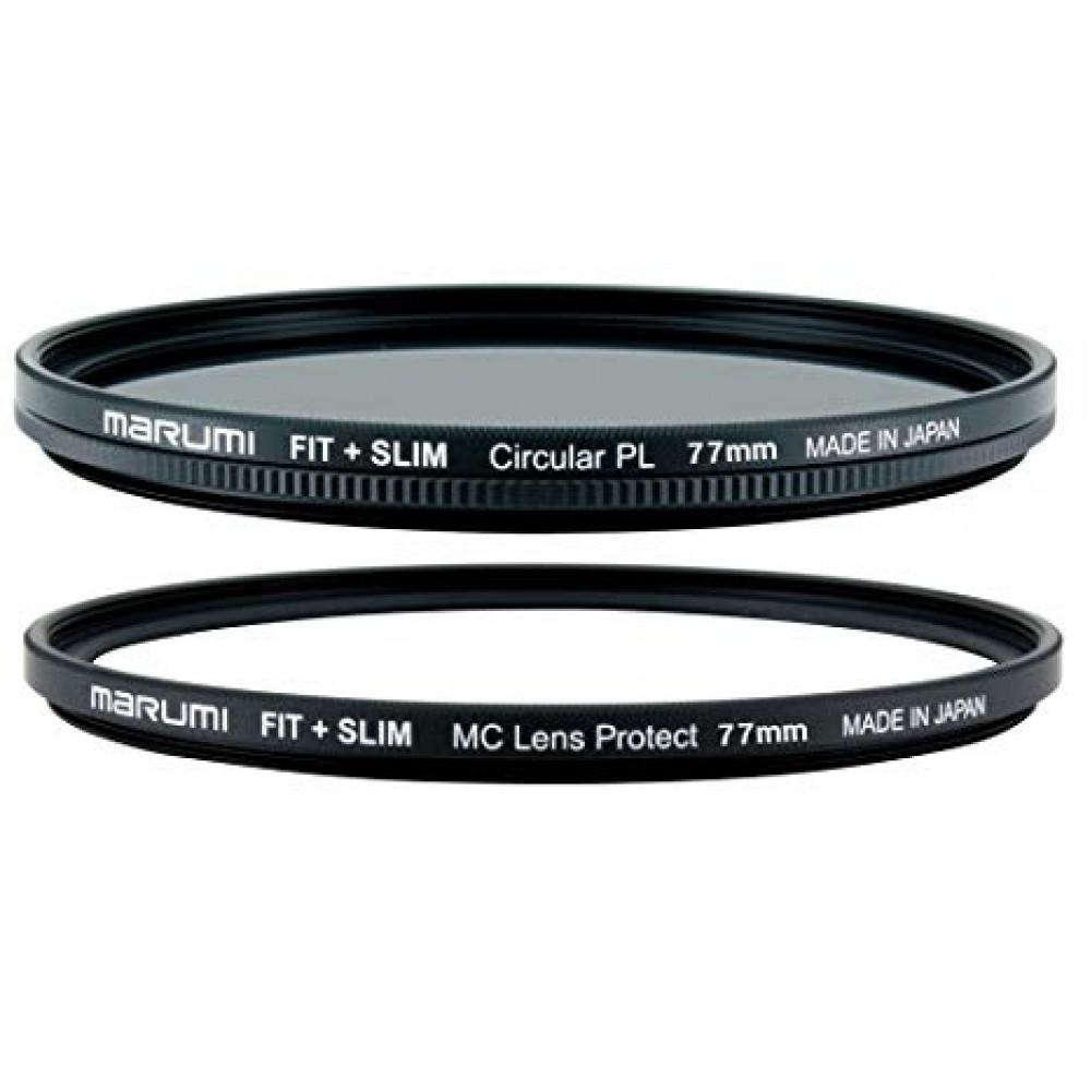 Светофильтр поляризационный Marumi FIT+SLIM Circular PL 77mm