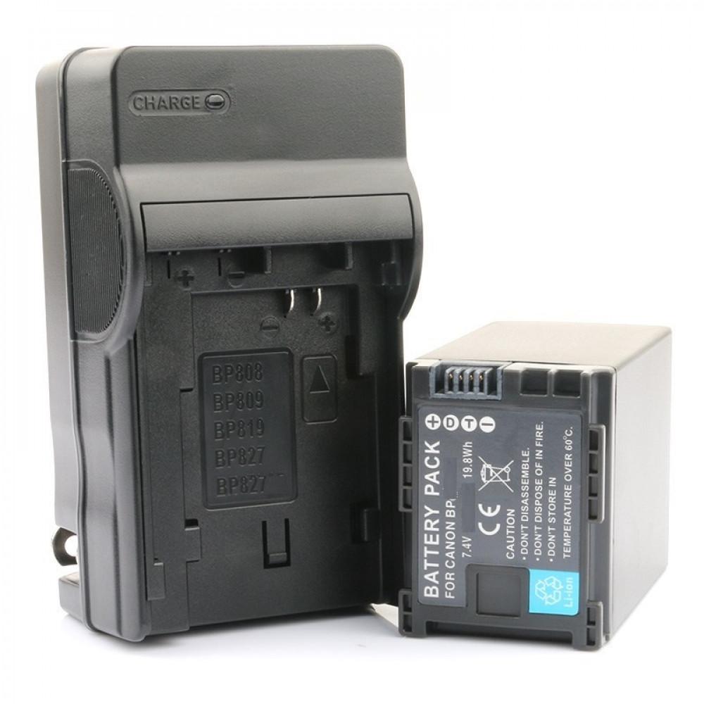 Батарея и Зарядное устройство Комплект для Canon BP 819