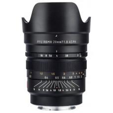 Объектив VILTROX PFU RBMH 20mm F1,8