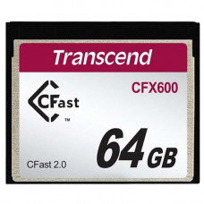 Карта памяти Cfast Transcend TS64GCFX600