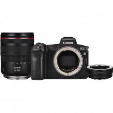 Фотоаппарат Canon EOS R Body + Adapter EF-EOS R +24-105mm f/4L