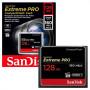 Карта памяти Compact Flash 128GB SanDisk Extreme 160MB/s 1067X (SDCFXPS-128G-X46)