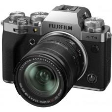 Цифровая фотокамера Fujifilm X-T4 Kit XF 18-55 MM F2.8-4 R LM OIS SILVER