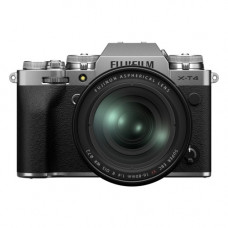 Цифровая фотокамера Fujifilm X-T4 Kit XF 16-80mm F4 R OIS WR Silver