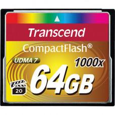 Transcend CompactFlash Ultimate 1000x TS64GCF1000