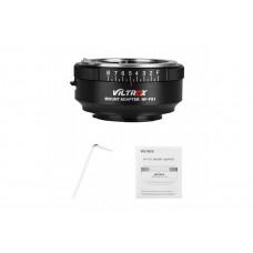 Адаптер переходник Viltrox NF-FX1 адаптер для Nikon G&D series lenses to FUJI X-mount cameras