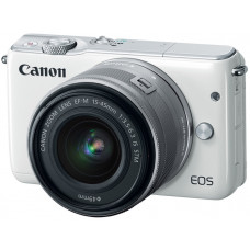 Фотоаппарат Canon EOS M10 Kit 15-45mm IS STM белый
