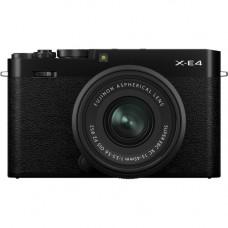 Цифровая фотокамера Fujifilm X-E4 Kit 27mm F2.8 R WR Black