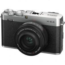 Цифровая фотокамера Fujifilm X-E4 Kit 27mm F2.8 R WR silver