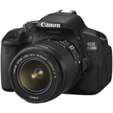 Зеркальный фотоаппарат Canon EOS 650D kit