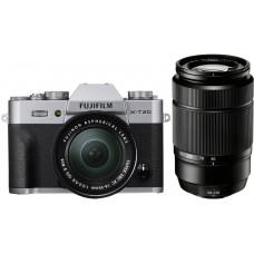 Фотоаппарат FujiFilm X-T20 kit 16-50 + 50-230 II Silver