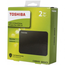 Внешний жесткий диск Toshiba Canvio Basics 2 Тб USB 3.1 (HDTB420EK3AA)