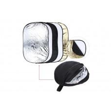 Commlite CM-FR6090 Отражатель золото/серебро  [диаметр 60cm/90cm] 5 в 1